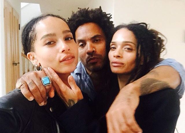 Zoe Kravitz Lenny Kravitz And Lisa Bonet Zoe Kravitz