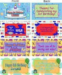 candy bags for birthdays - Buscar con Google