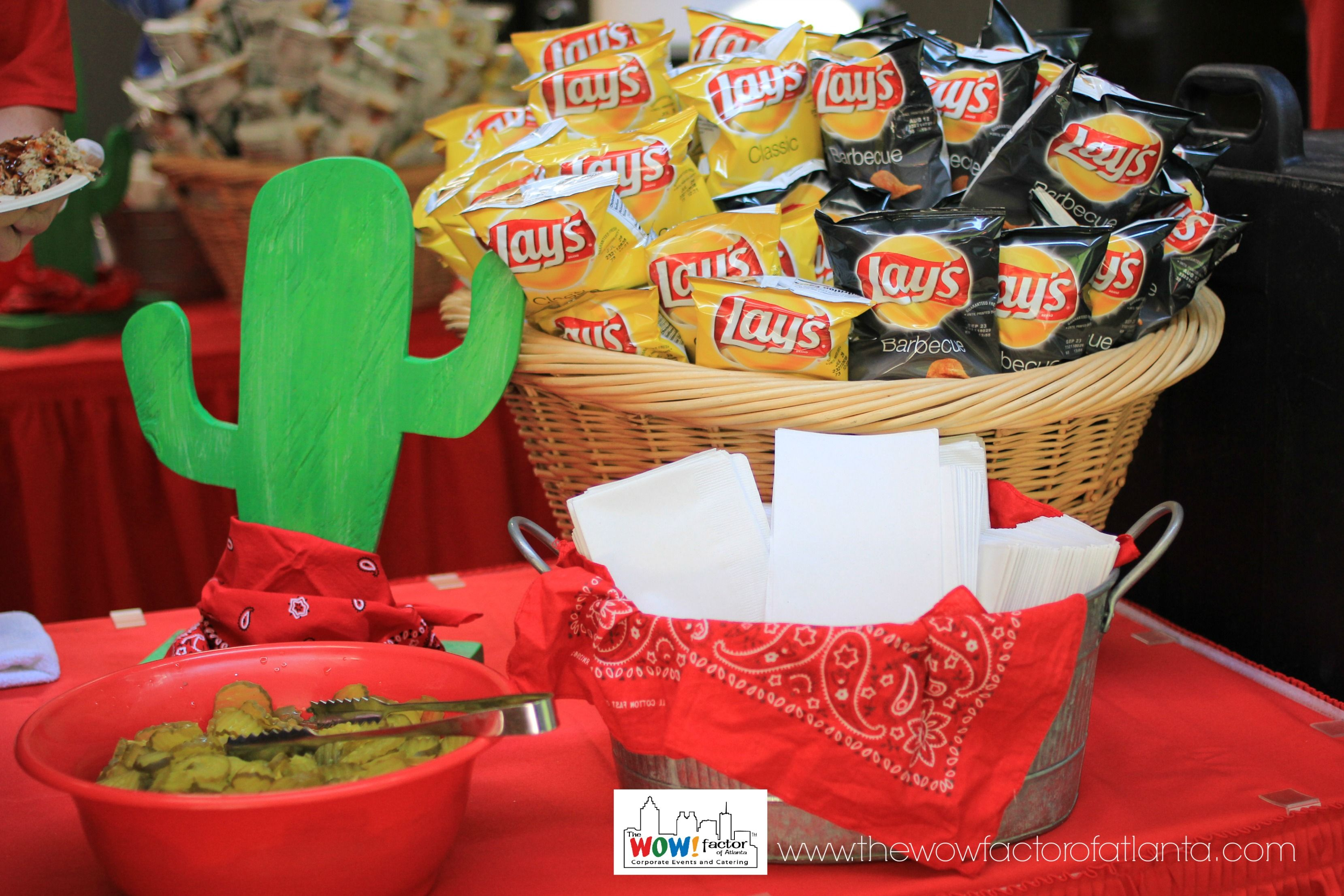 Get creative with your sides and condiment stations!
