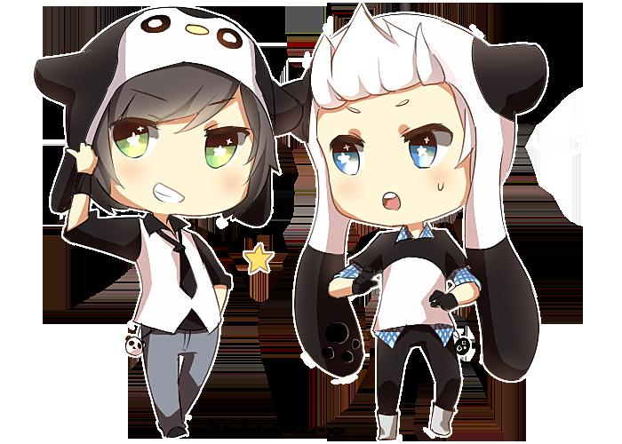 Gallery For > Panda Chibi Tumblr Dubujos