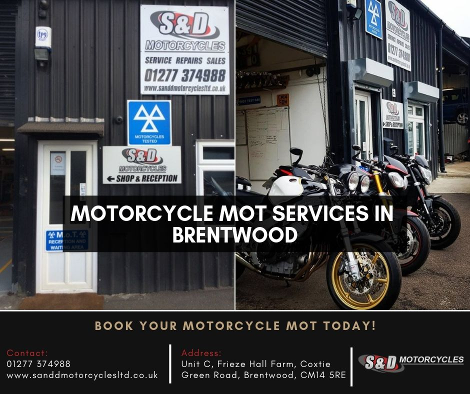 Here At S And D Motorcycles We Offer A Full Motorcycle Mot