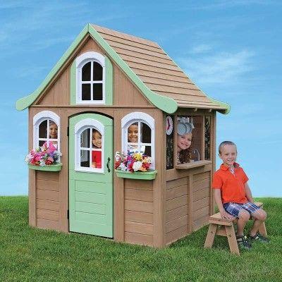 The Big Backyard Forestview Wooden Playhouse by KidKraft ...