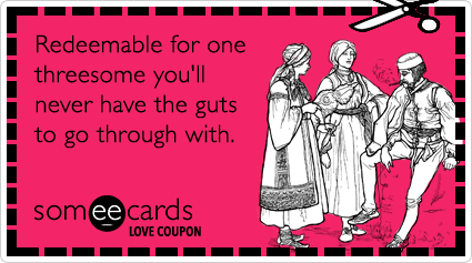 Think, E-cards threesome valentine interesting. You