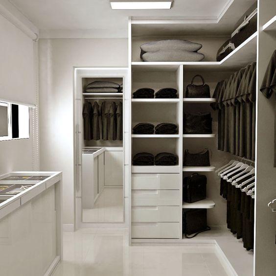 40 Closets Pequenos Que V 227 O Inspirar Voc 234 Projeto De