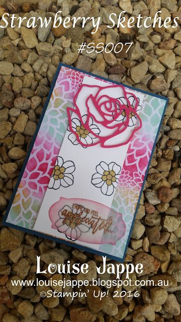 Hello everyone, welcome back to the Strawberry Sketches. This week is sketch number 8! I've really enjoyed looking at your creations. I hope you're enjoying looking at the cards made by these talented crafters. If you're not familiar with my weekly Wednesday sketches, they're here to help you get your cards moving, often the layout …