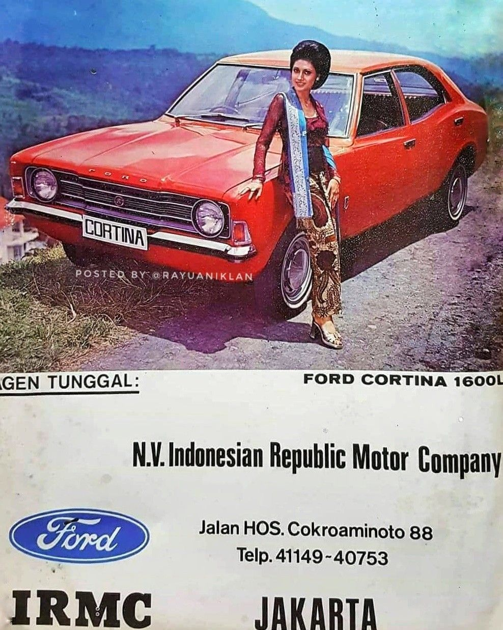 Ford Cortina 1600l Print Ads Ads Ford