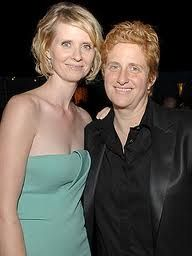 Cynthia Nixon - Sex In The City & Christine Marinoni