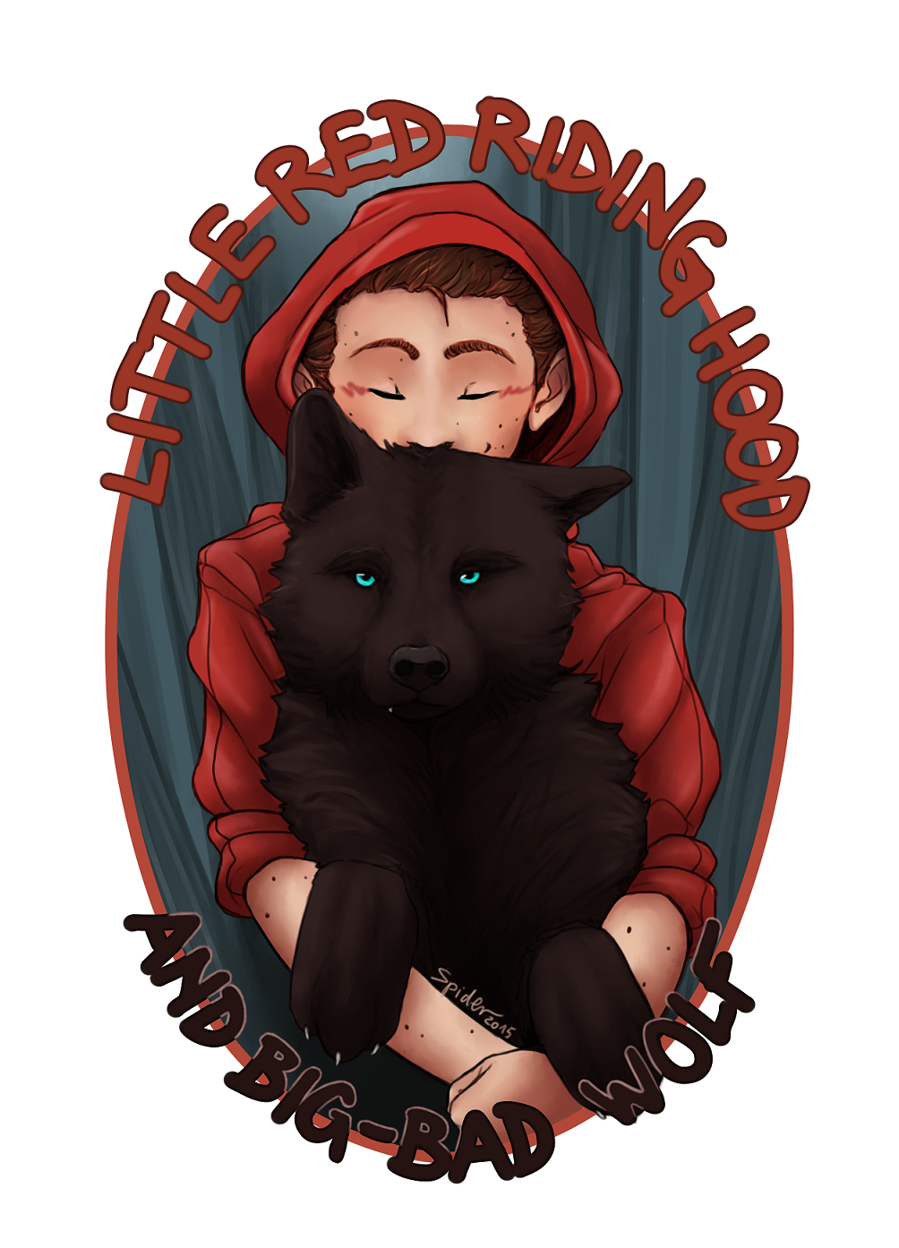 spider999now: i just love how sterek fandom compares sterek with little red riding hood (as stiles) and big bad wolf (as derek) plus you just can't say no to wolf!derek ;D