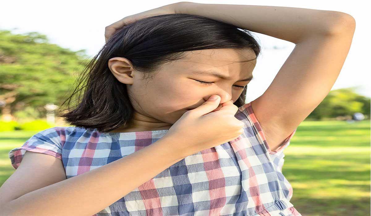 التخلص من رائحة العرق للأطفال Body Odor Underarm Odor Underarm Smell