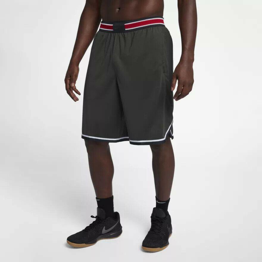 f6f413d7d5639d Nike Men s Vapor Knit Basketball Shorts NEW 925795-355 Sequoia Black Size  3XL  Nike