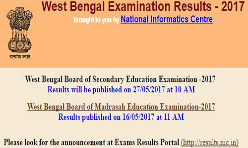 West Bengal Secondary Education Examination 2017 Results Secondary Education Education Secondary