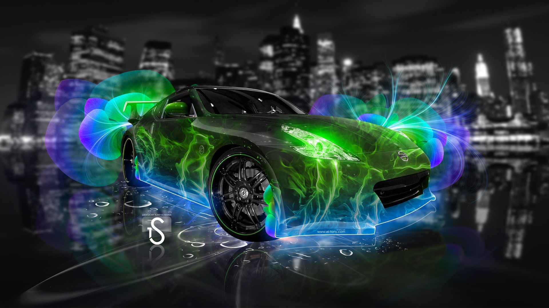 Nissan 370 Z Super Abstract Car Art Cool Cars Nissan Amazing Cars