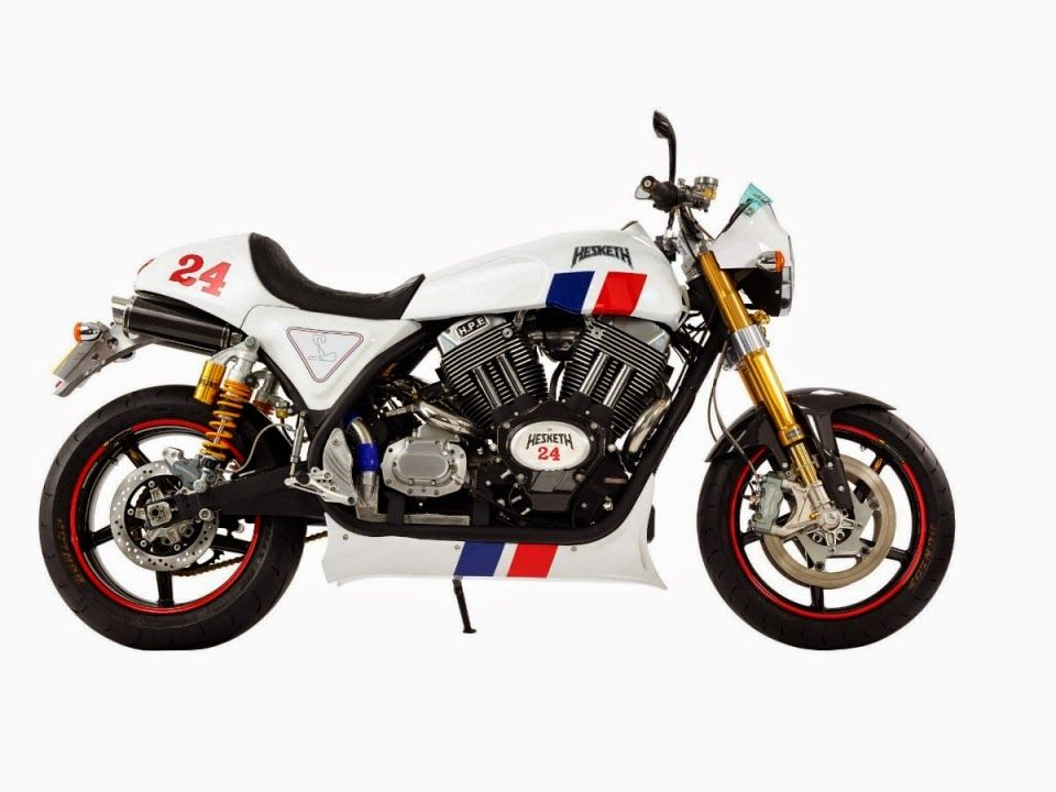 Hesketh 24 ~ Motor Fuel