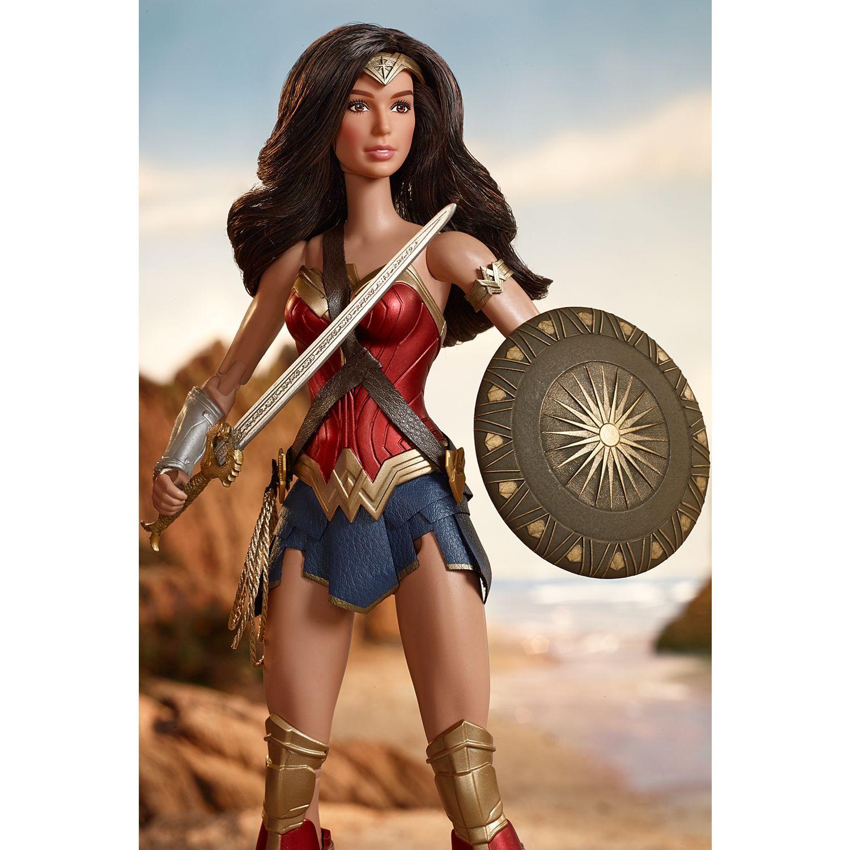 Barbie Wonder Woman Doll A1 Shuffle Board Wonder Woman, Barbie, Dukker-2669
