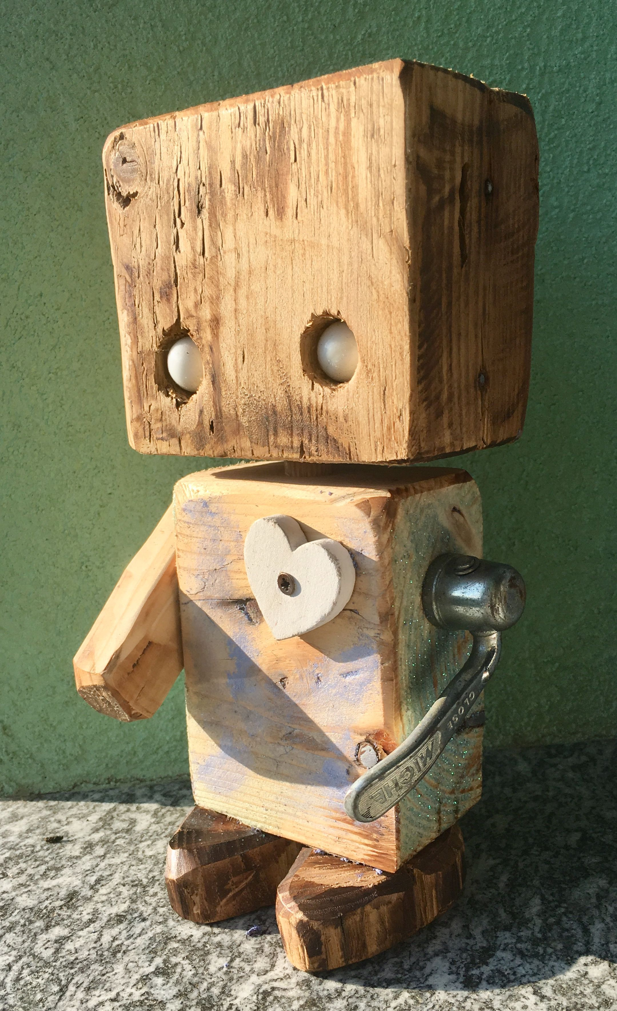 #ROBOT #PALLET #WOOD #GNOMOWOOD #DIY by #GNOMO14 # ...