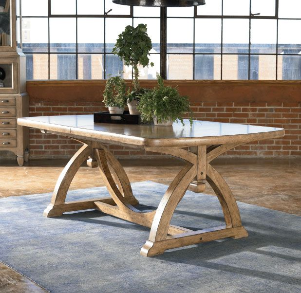 Pacific Dining Table Dining Table Trestle Dining Tables Rustic