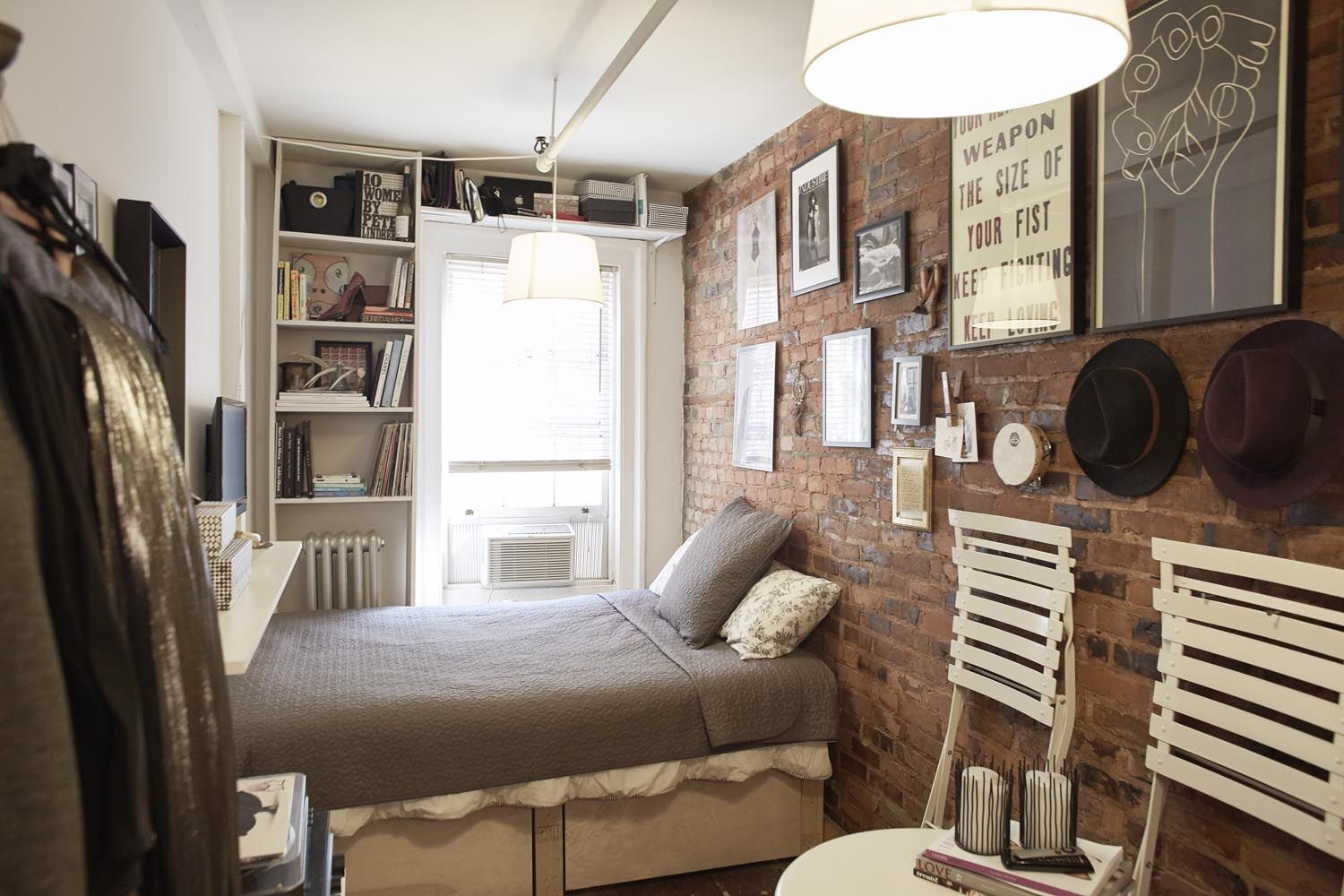 Interior Of Mary Helen Rowells 90 Sq Ft Home In Manhattans West Village