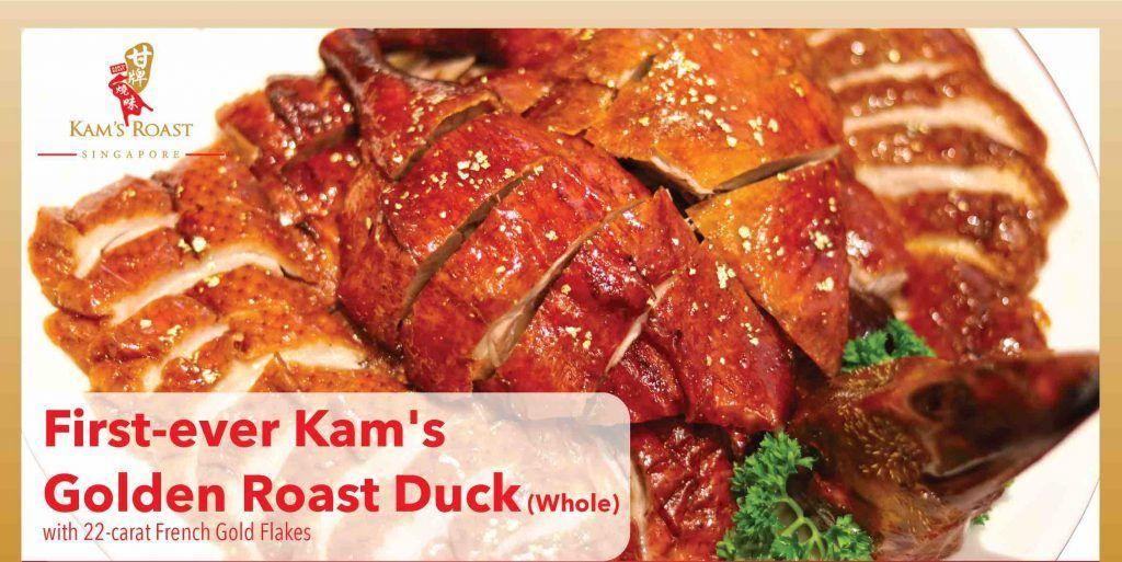 Kam's Roast Singapore Chinese New Year Takeaway Menu is