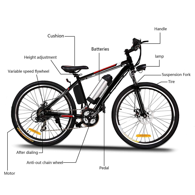 Aceshin Electric Bike Review Electric Mountain Bike Cheap