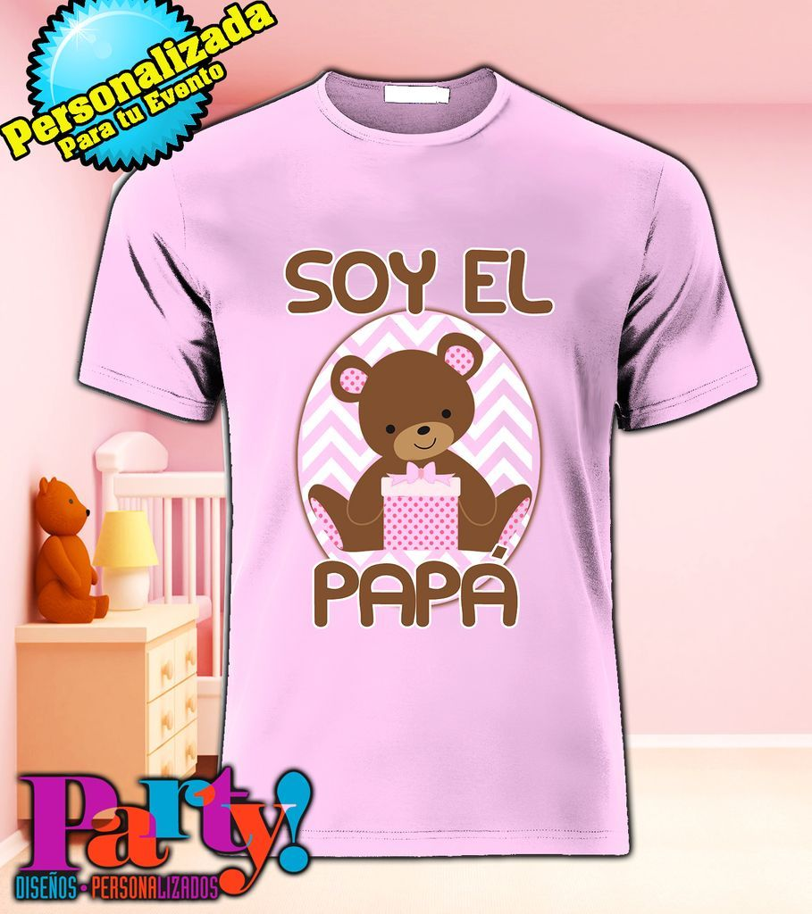 cec38bcc2cd47 Playeras para Baby Shower playeras t