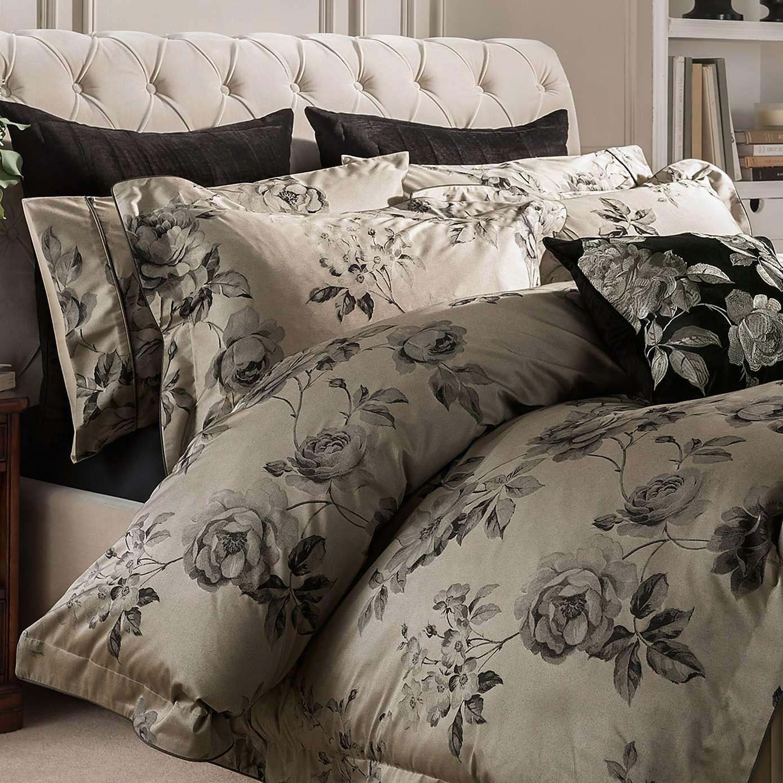 Dorma Harriet Charcoal Duvet Cover Dunelm Dorma Bedding Duvet