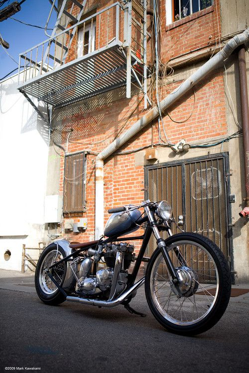 Bobber Inspiration | Triumph | Bobbers and Custom Motorcycles | xultimatumx July 2014