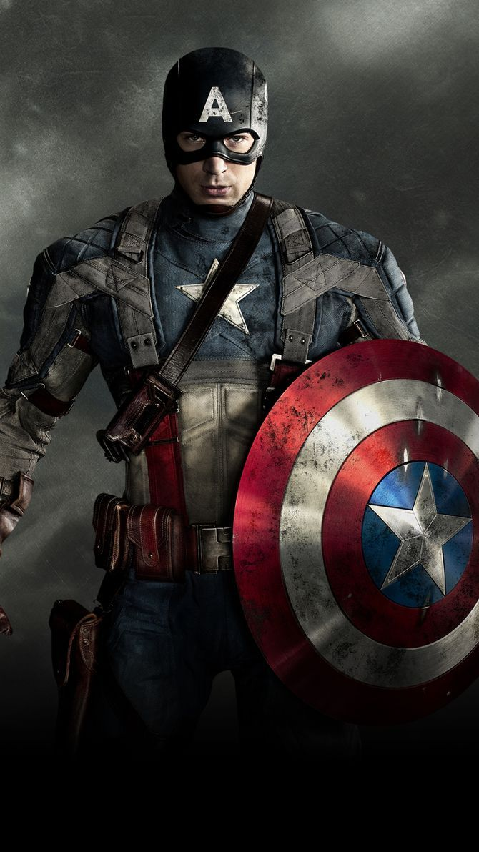 Captain America The First Avenger 2011 Phone Wallpaper Moviemania Captain America Wallpaper Marvel Captain America Captain America
