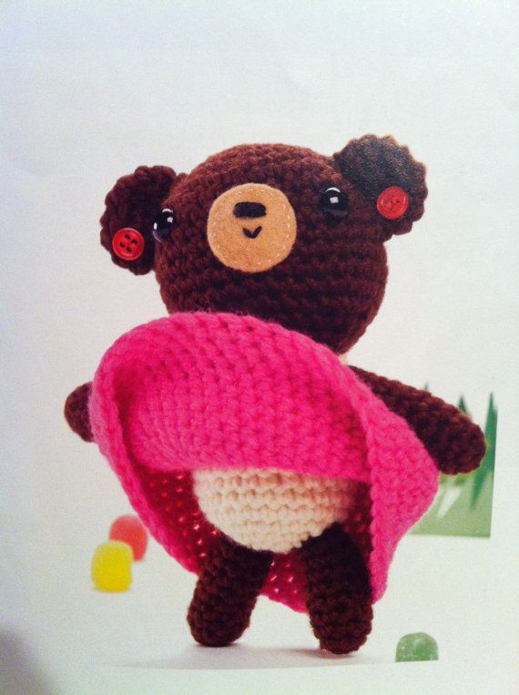 Gloria the bear by ESYDesignes on Etsy, $6.00