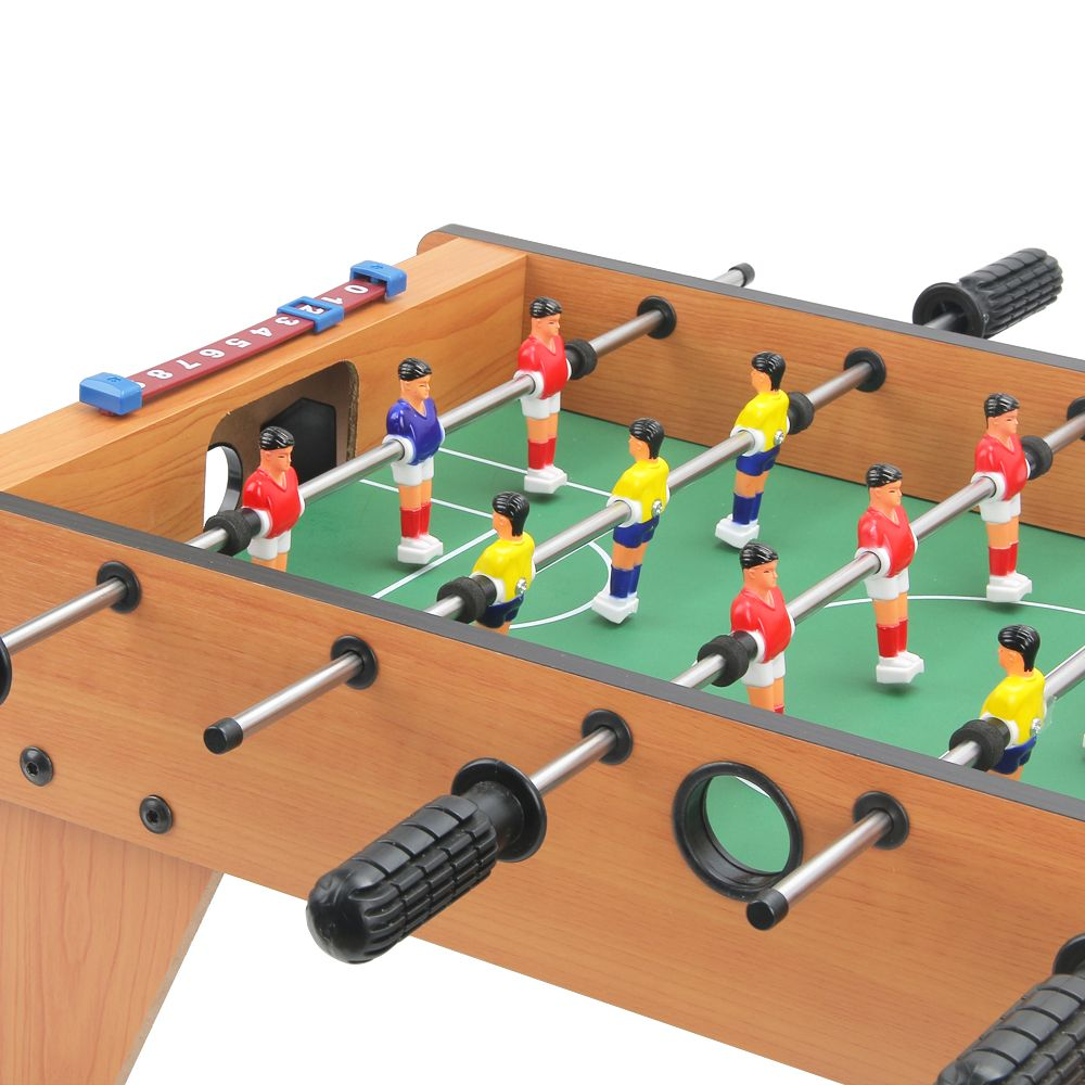 27 Inch Mini Foosball Table with Legs