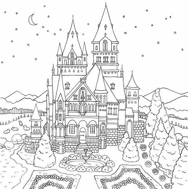 фотографии, раскраска царство снежной королевы изготовления кролика