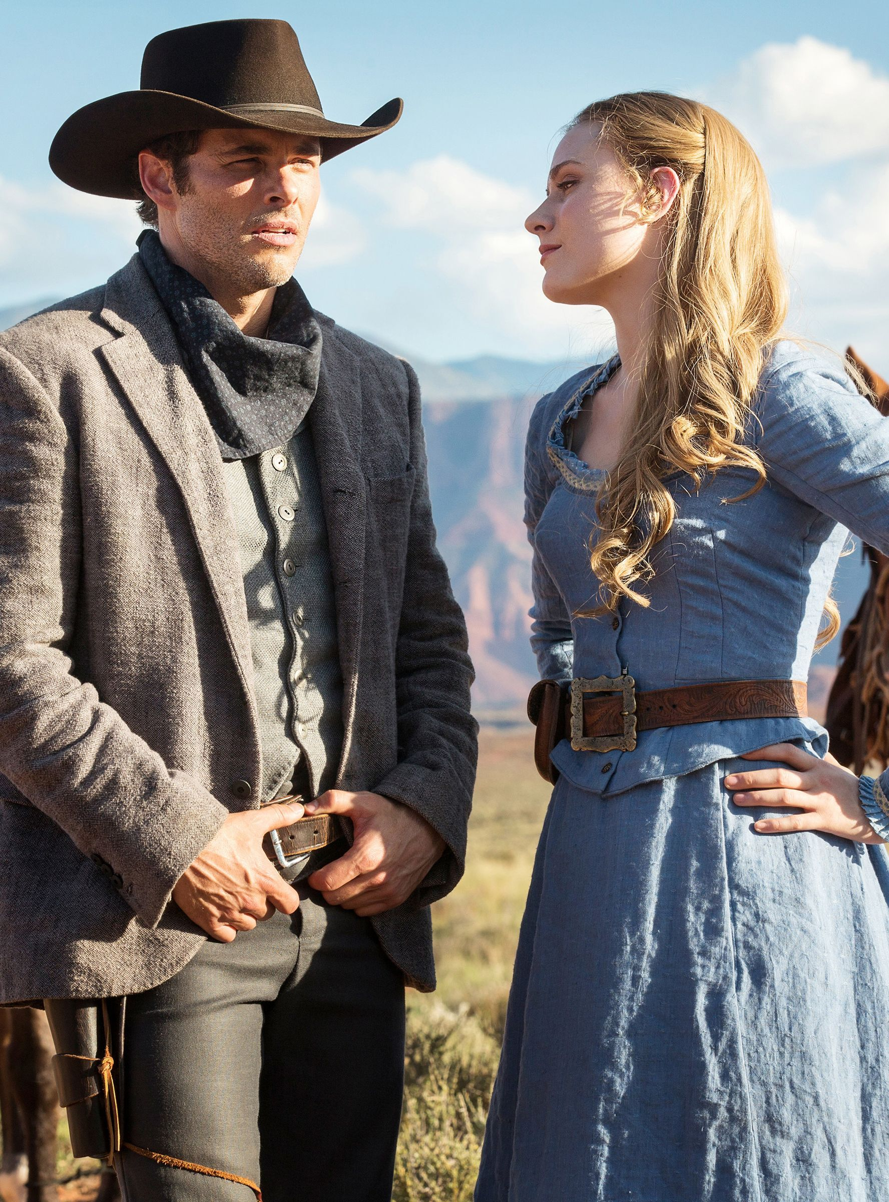 Can Dolores' Gun Kill Guests On Westworld? #refinery29 http://www.refinery29.com/2016/10/125096/westworld-fan-theories