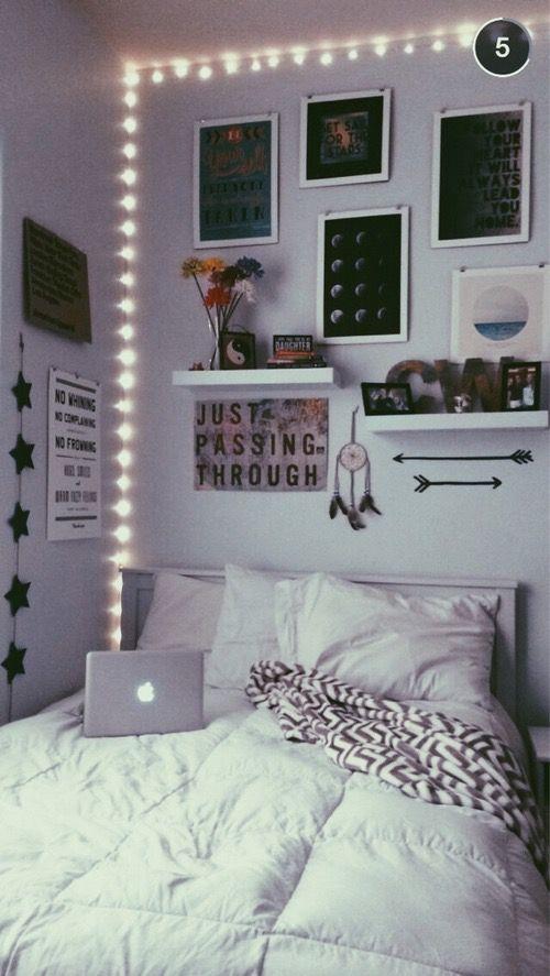 Ideas para poner linda tu habitación si andas corta de dinero Ideas