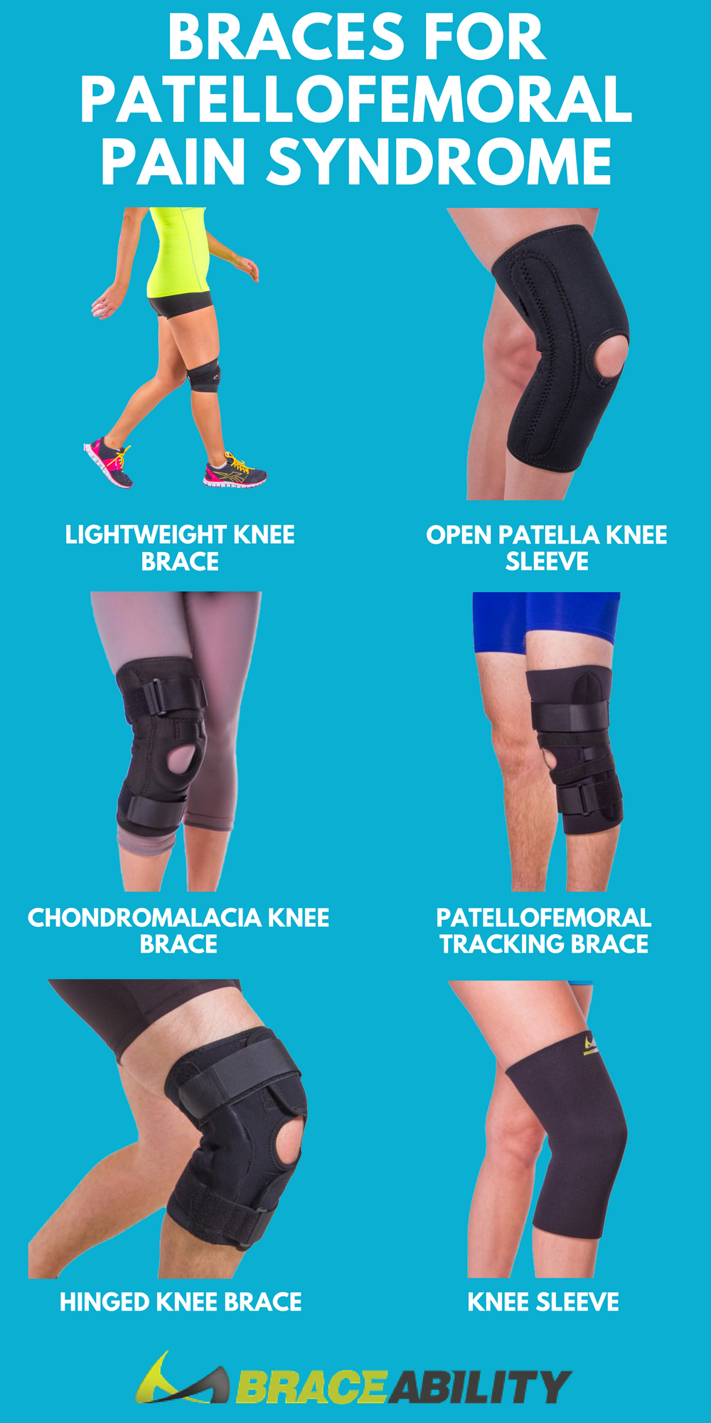 581a30f698 Do you have pain at the front and around your kneecap (patella)? You could  have patellofemoral pain syndrome. These knee braces for patellofemoral  pain ...