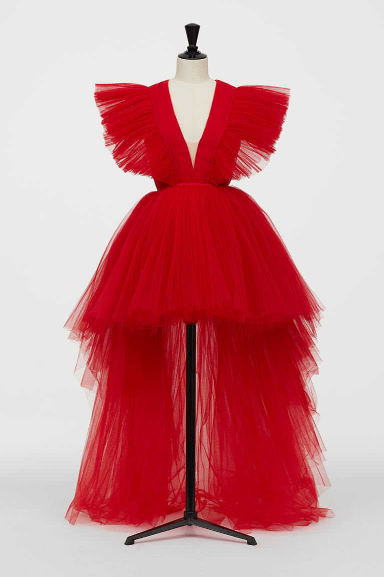 26+ Red tulle dress ideas
