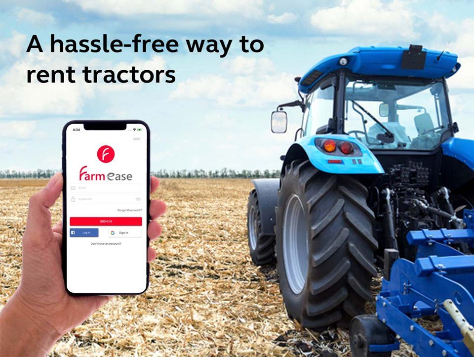 Put Your Tractor To Work Rent it out on Farmease Download