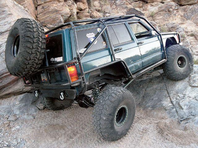 1997 Jeep Cherokee Xj Exo Cage Jeep Xj Jeep Cherokee Jeep