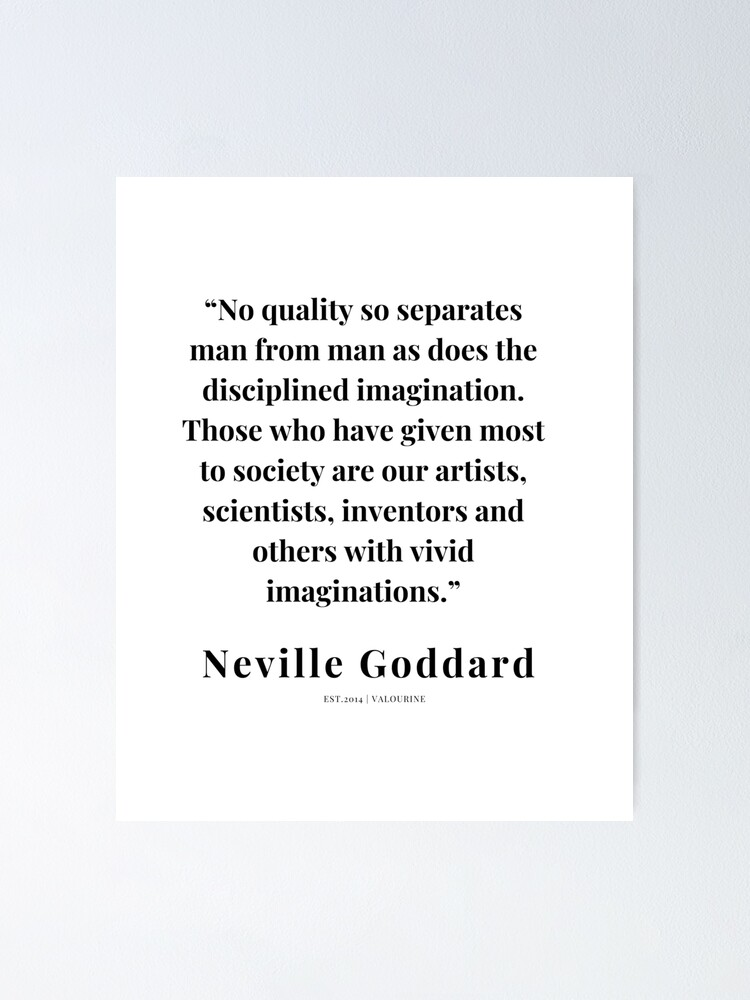 35  |   Neville Goddard Quotes | 210308 | Motivational Quote Poster by QuotesGalore