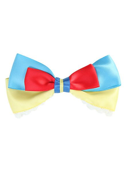 Disney Snow White And The Seven Dwarfs Cosplay Hair Bow | Hot Topic