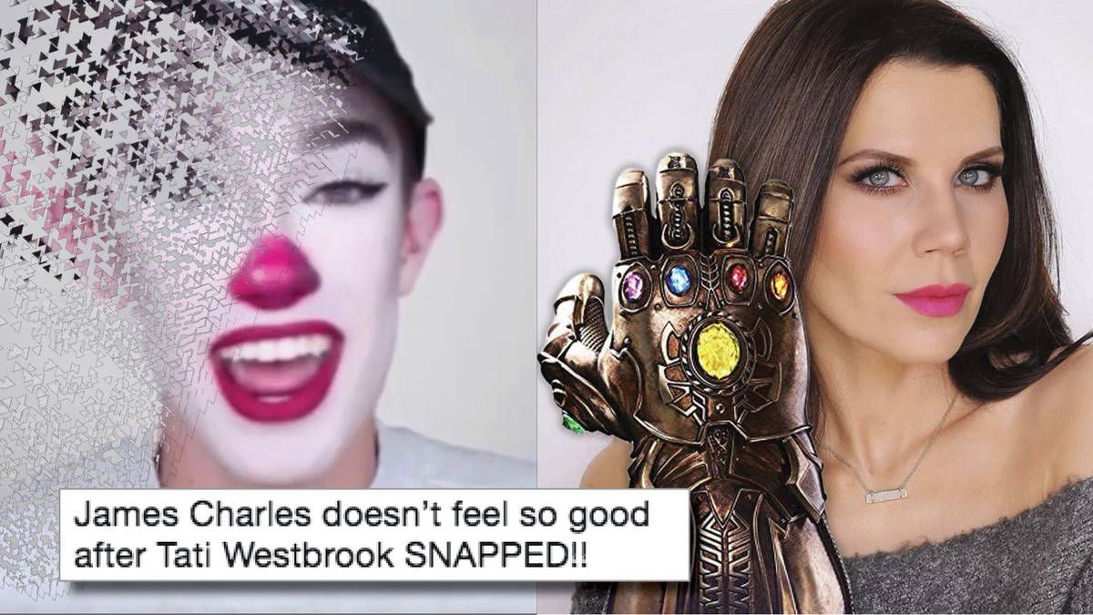 The Memes About The James Charles And Tati Westbrook Drama Are Already Out Of Control Check M James Charles Charles James