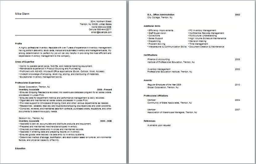 Accounting Job Descriptions Accountant Job Description Inventory Management Associates Resume