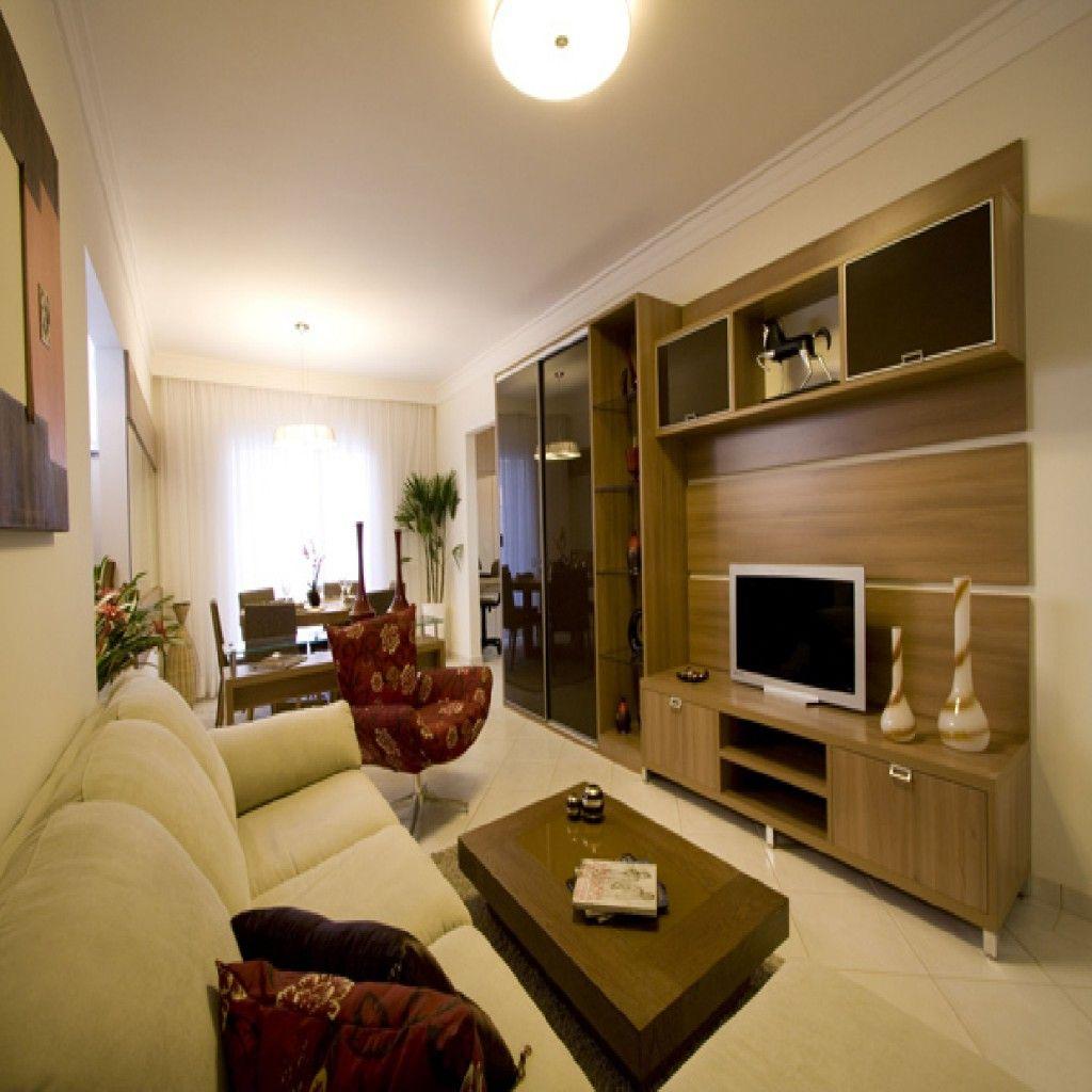 Salas Pequenas Decoradas Com Gesso Pequenos Por M Bonitos  -> Gesso Para Sala De Estar Pequena