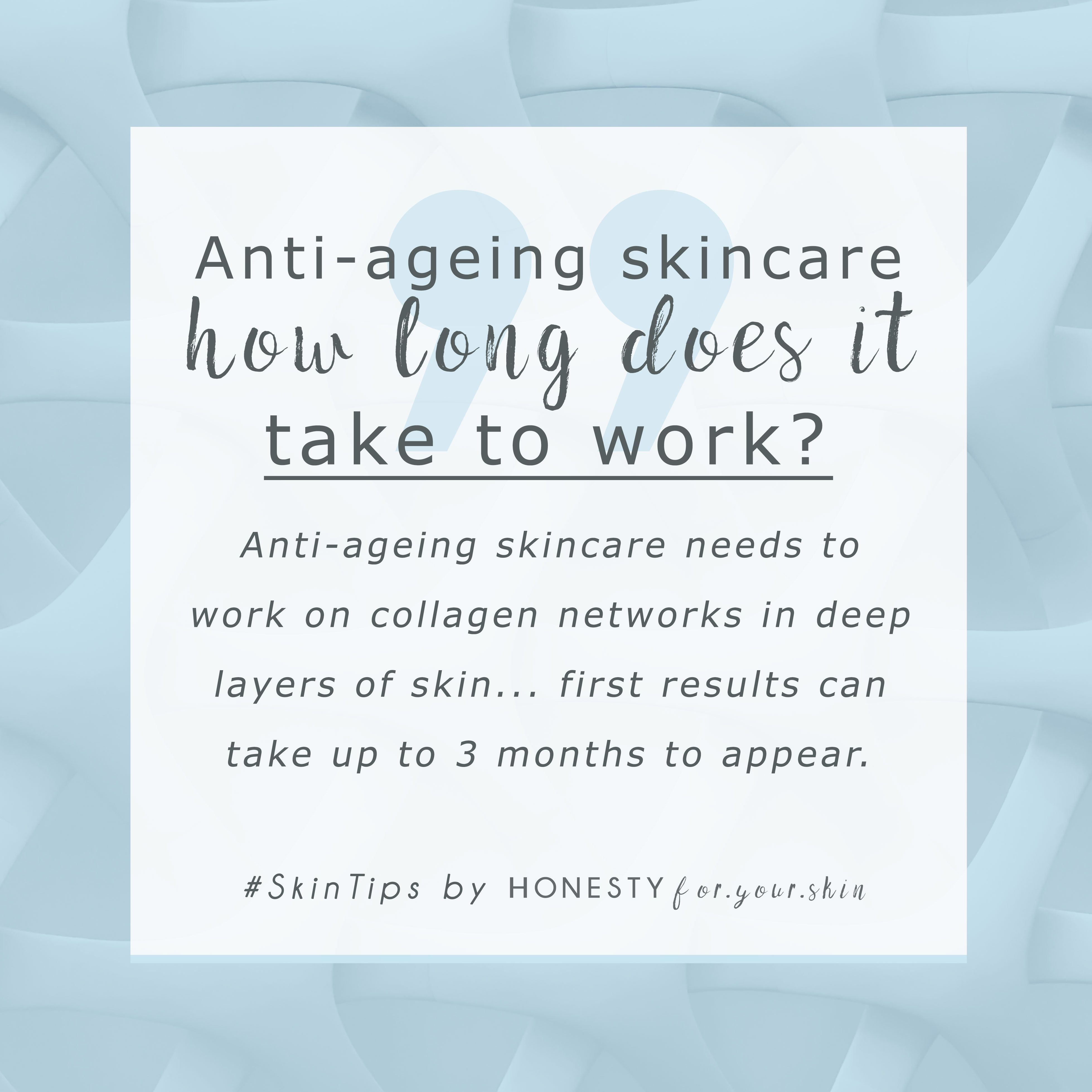 How Long Does It Take For Skincare Products To Work Anti Aging Skin Care Anti Aging Skin Products Anti Ageing Moisturiser