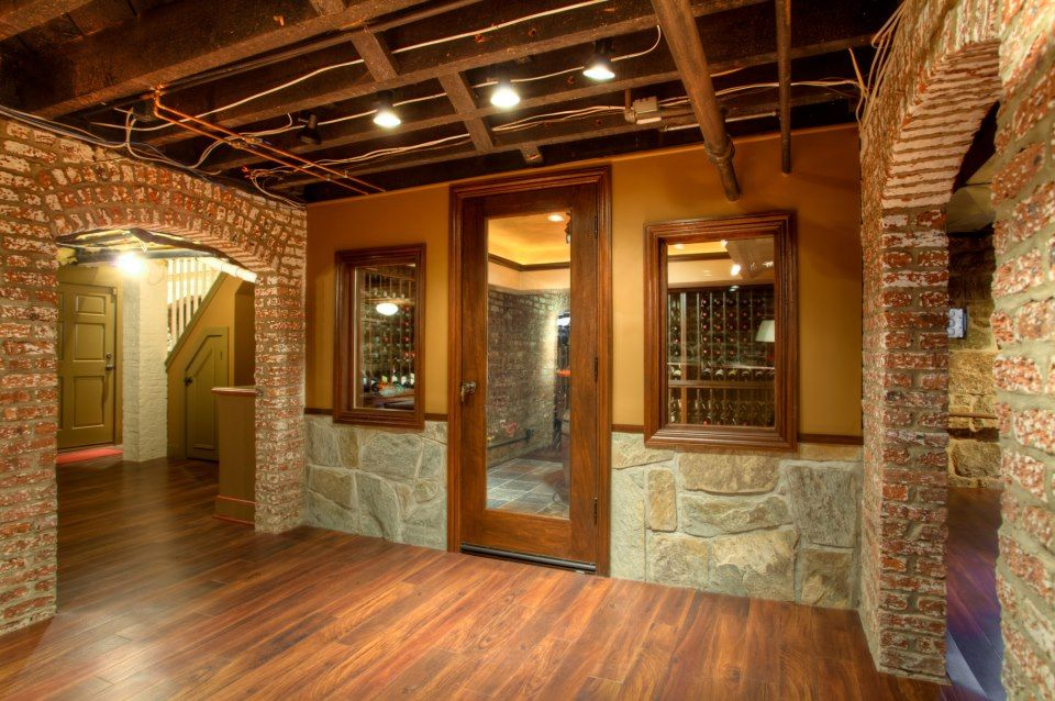 Man Cave/ Wine Cellar Ideas