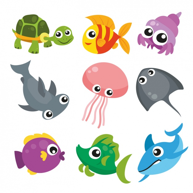 Download Sea Animals Collection For Free Animal Clipart Free Sea Animals Animal Clipart