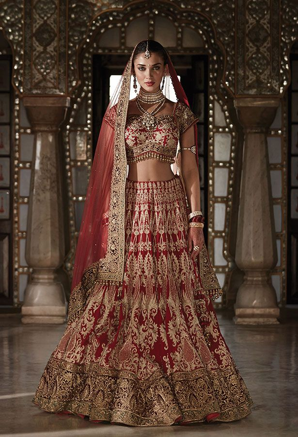 Tanishq Punjabi Bride Wedding Jewellery Collection(3) | Gowns to Gag ...