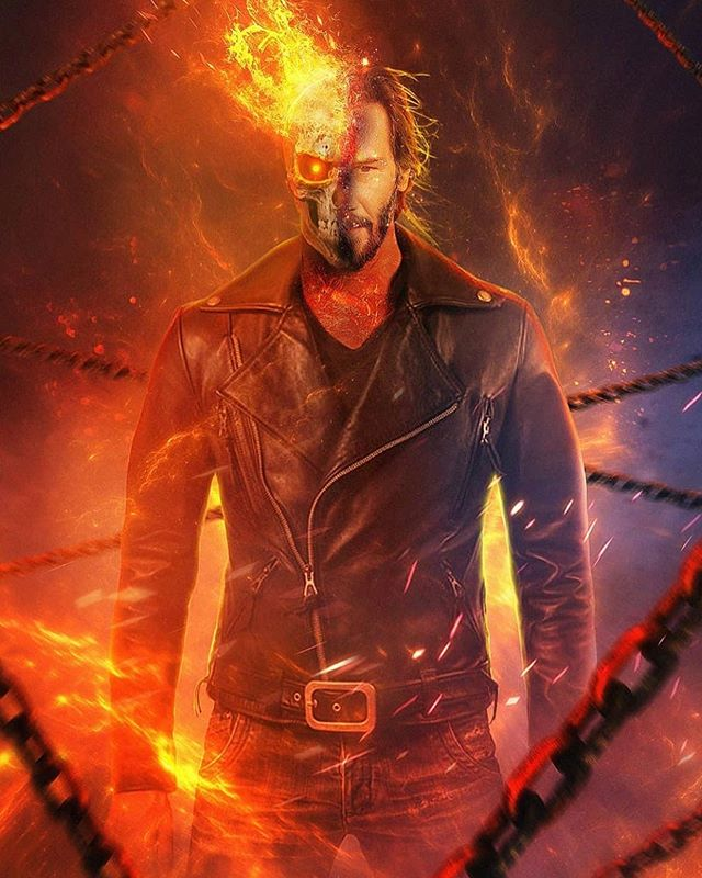 Comicbook We D Be All In On A Keanureeves Ghost Rider Art By Erathrim20 Ghost Rider Marvel Ghost Rider Johnny Blaze Ghost Rider