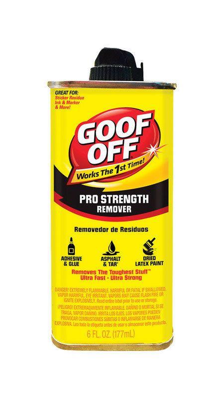 9 45 Goof Off 6 Oz Professional Strength Adhesive
