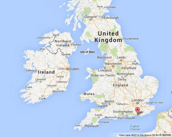 where is Brighton on Map of UK location Brighton on Map of UK