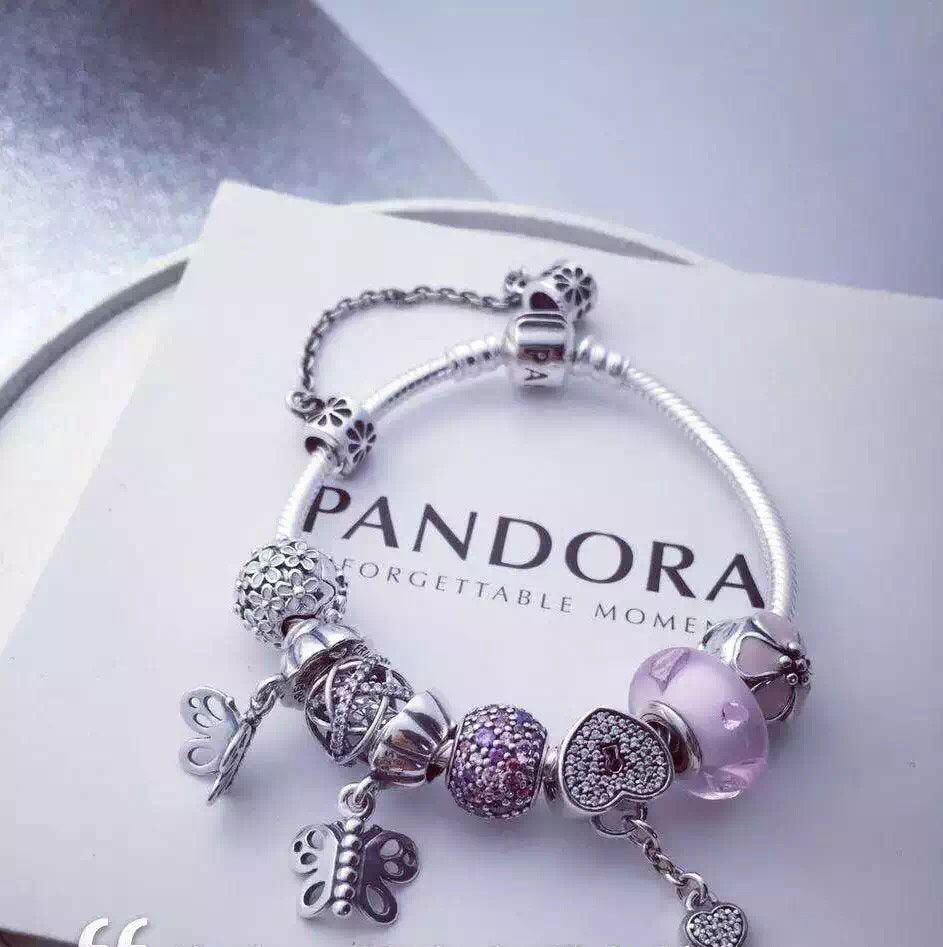 Pandora Jewelry For Sale: 50% OFF!!! $219 Pandora Charm Bracelet. Hot Sale!!! SKU