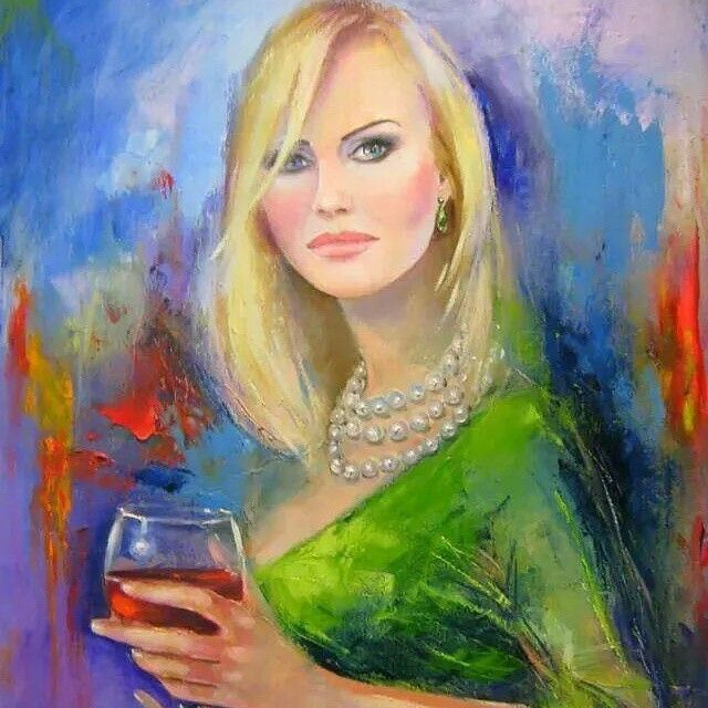 Wine Art - Instagram photo by Tomaeva-Gabellini Fatima • Nov 28, 2014 #women&wine